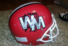 West Middlesex Reds Helmet